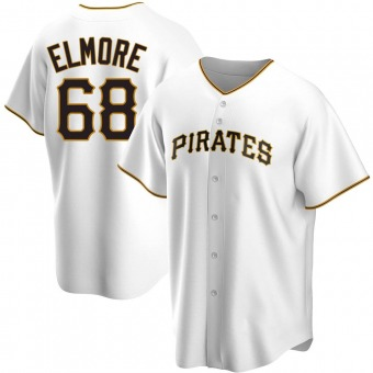 Youth Replica Pittsburgh Pirates Jake Elmore Home Jersey - White